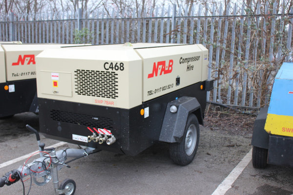 Doosan 7/72 Portable Compressor
