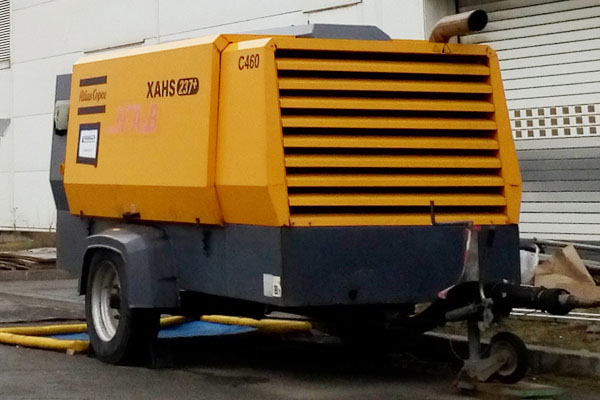 Atlas Copco XAHS237 Portable Compressor